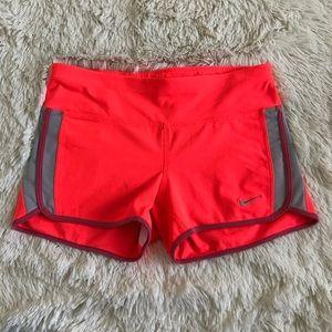 Nike Spandex Shorts Neon Orange